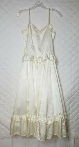 Vintage GUNNE SAX by Jessica McClintock Ivory Dres