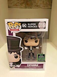 Zatanna-ECCC-2020-Convencion-Exclusiva-FUNKO-POP-DC-Super-Heroes-316-Nuevo