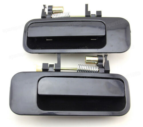 New Outer Black Rear Left/&Right Door Handles for Toyota Camry 97-01 69220AA010