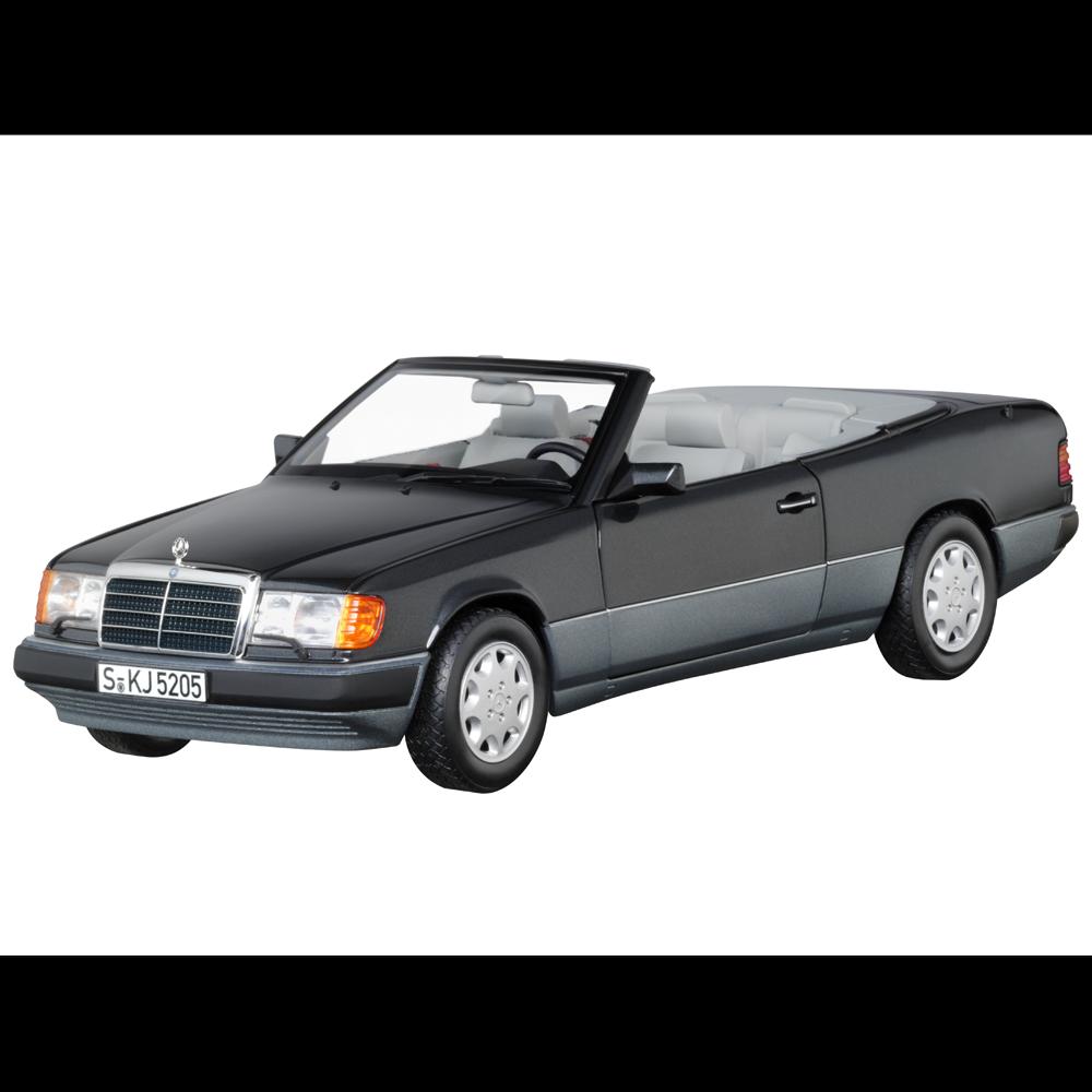 Mercedes Benz W 124 - E 300 CE 24 V Cabriolet 1992 Blauschwarz 1 18 Neu OVP