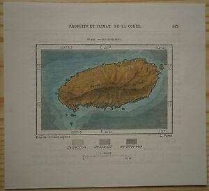 1882-Perron-map-JEJUDO-ISLAND-KOREA-125