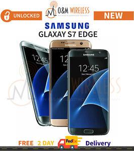 New Samsung Galaxy S7 Edge Black Gold Silver Blue Pink Sm G935a Gsm Unlocked Ebay