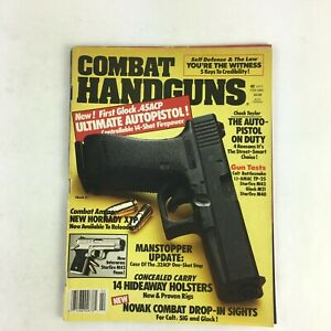 February-1992-Combat-Handguns-Magazine-The-Auto-Pistol-On-Duty-Interarms-M43-9mm