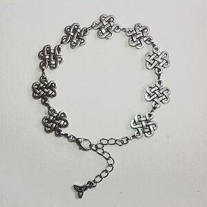 bijoux celtiques médiéval bracelet entrelacs ou nœuds celtiques