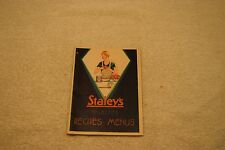 Vintage Staley's Selected Recipes And Menus Booklet