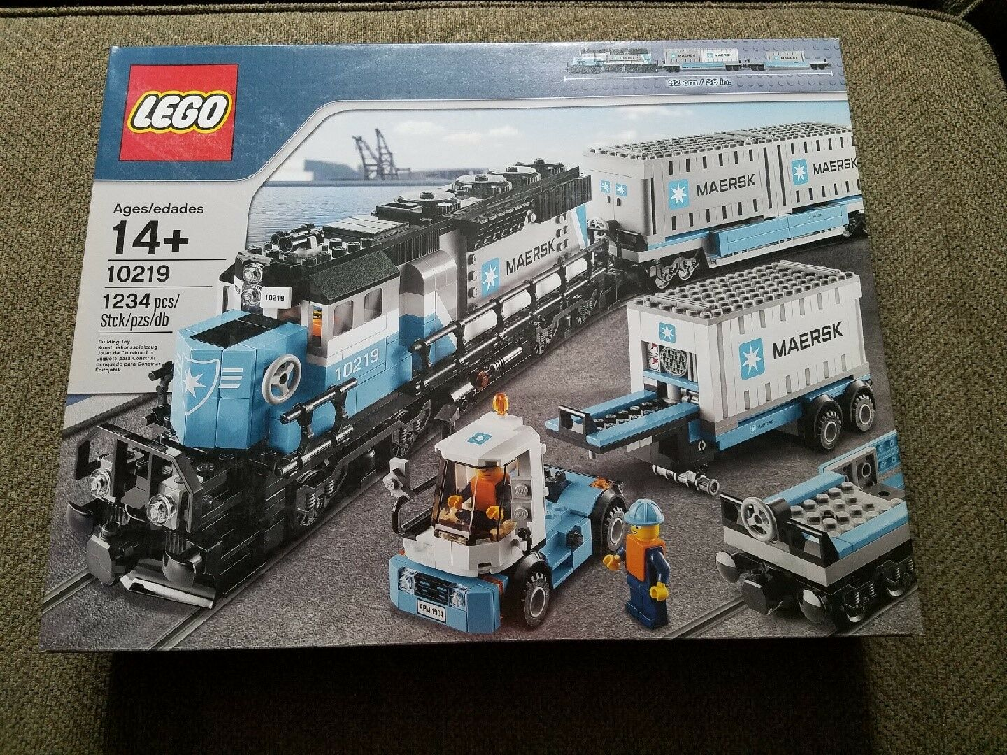 Retraité LEGO Trains MAERSK train (10219)