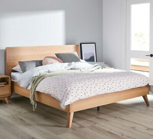 Retro-Queen-Bed-Oak-By-Fantastic-Furniture