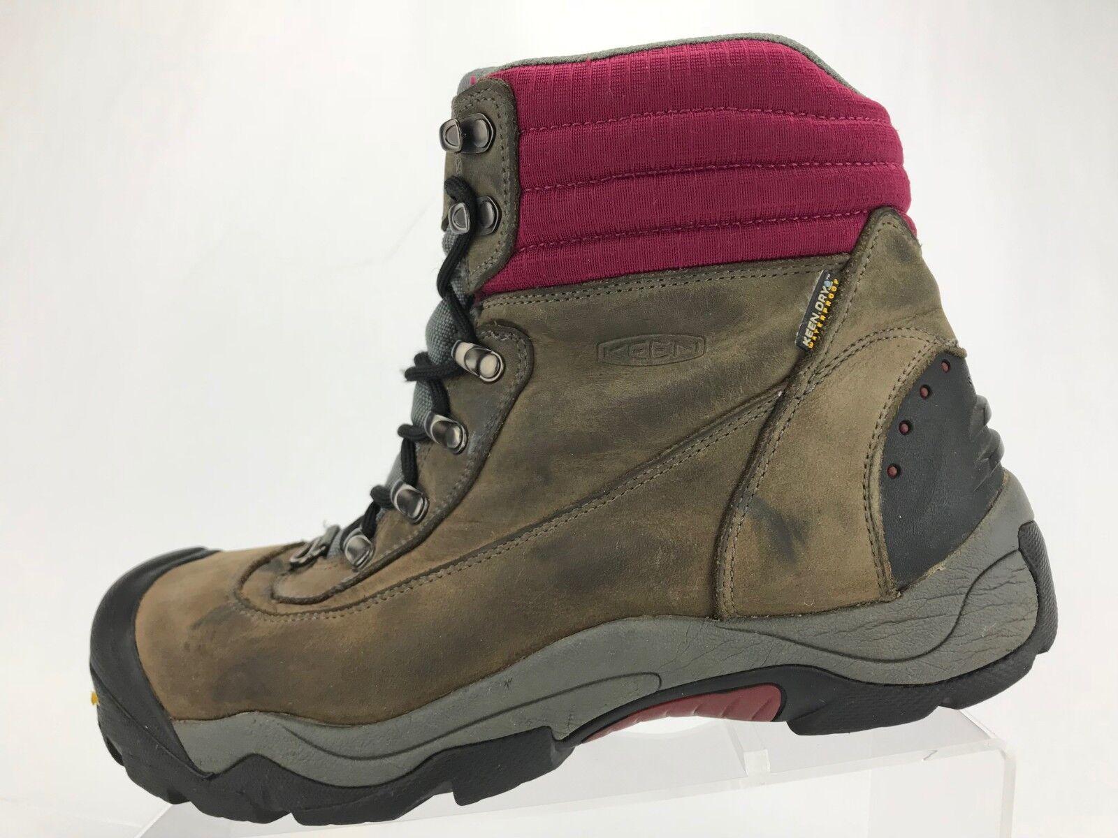 Keen Revel III Winter Boots Brown Insulated Insulated Insulated Trail Trekking Booties Womens Sz 10 d38859