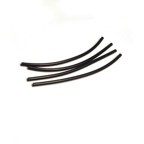 4x Black Hose for Educational Pneumatic Toys 15 Stud 12cm