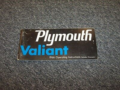 1973 Plymouth Duster Valiant Owners Manual User Guide Reference Operator Book