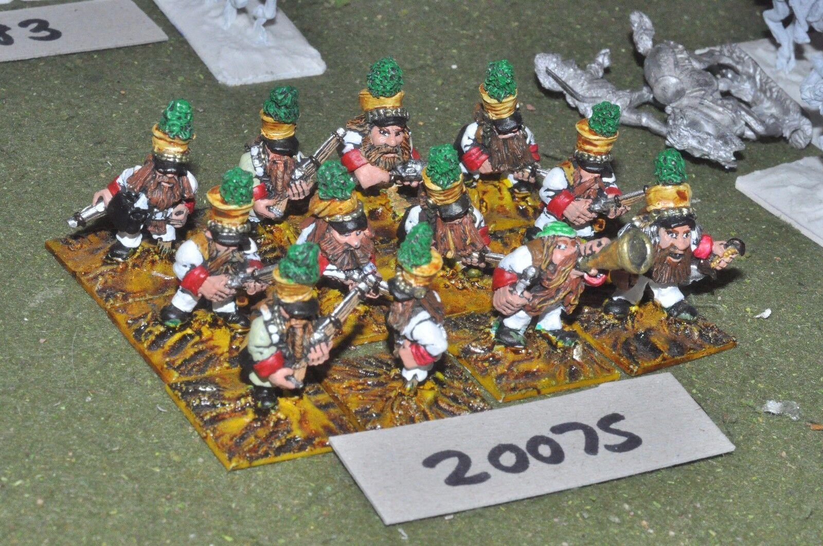 28mm flintloque fantasy dwarf Prinz nueffel jagers 12 figures {16} (20075)