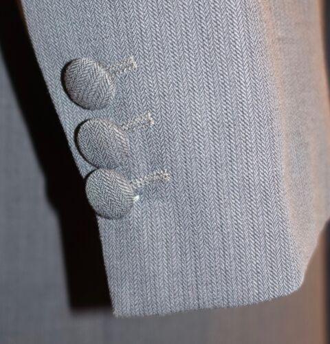 Details about  /MENS GREY LUXURY DESIGNER PRINCE EDWARD JACKET EX-HIRE FORMAL WEDDING PUNK