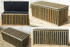 classic hopstibox gartenbox auflagenbox kiste truhe aufbewahrung kissenbox holz ebay. Black Bedroom Furniture Sets. Home Design Ideas