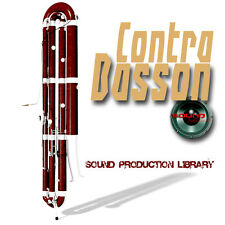 CONTRA BASSON REAL - UNIQUE Perfect WAVE/NKI Multi-Layer Samples Library on DVD