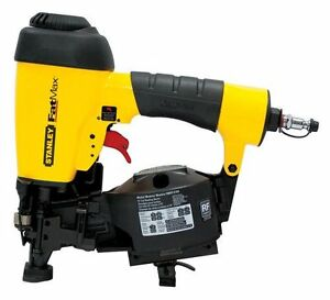 Stanley Fatmax 7 8 To 1 3 4 Quot Pneumatic Coil Roofing Nailer