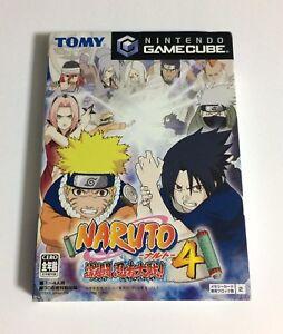 USED-Nintendo-Game-Cube-GC-Naruto-Gekitou-Ninja-Taisen-4-JAPAN-import-Japanese