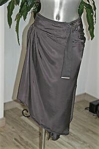grigio di di Gonna ad alta zecca a scuro qualità asimmetrica portafoglio colore 46i 42 Fr Nuovo 6qUqp