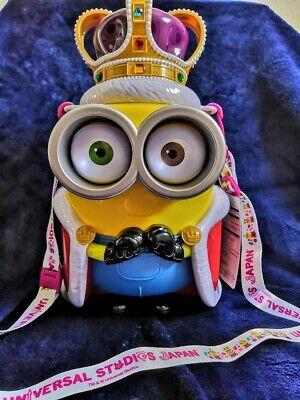 Minion Popcorn Bucket Usj Universal Studios Limited Japan Halloween Dracula USED