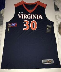 New Nike Men's Virginia Cavaliers UVA Elite Basketball Jersey Large $75 #30