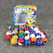 36pcs Box Lot Small Mega Monsters Pokemon Pokeball Toy Fun Gift New Multicolor