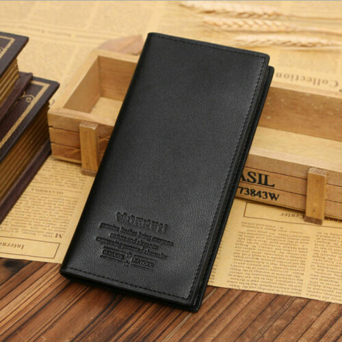 Billfold Men/'s Bifold Leather Wallet ID Credit Card Holder Purse Clutch