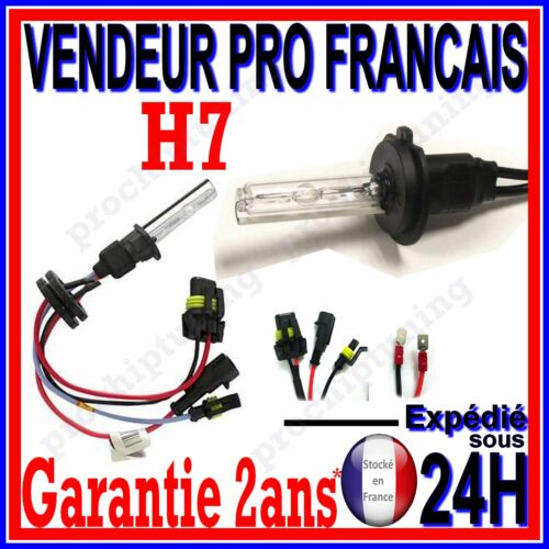 1 AMPOULE XENON H7 10000k 35W 55W POUR KIT HID 12V LAMPE FEU PHARE DE RECHANGE