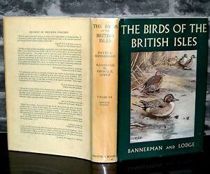 The-Birds-Of-The-British-Isles-David-Armitage-Bannerman-Vol-7-HB-DJ-1958