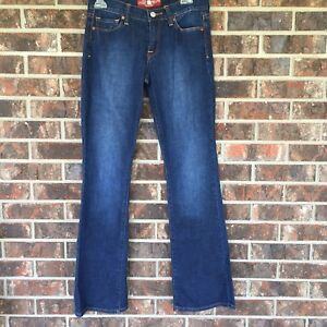 Womens-LUCKY-BRAND-Sofia-Straight-Blue-Jeans-Size-4-27