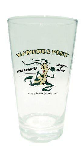 Breaking Bad Vamonos Pest Pint Glass
