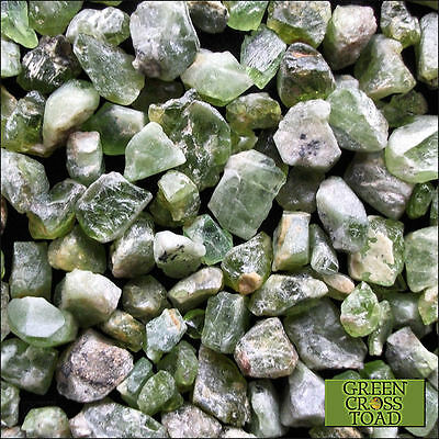 Peridot Raw Mineral Green Olivine Gem Crystal 3g