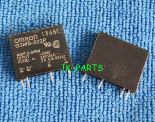 1pcs ORIGINAL G3MB-202P-5VDC G3MB-202P 5V OMRON Relay 4Pins