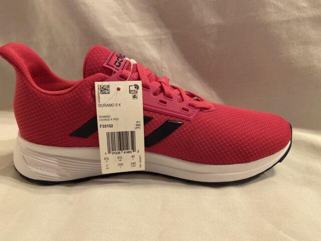 adidas Duramo 9k F35102 Girls Fuchsia/pink Running Shoes Youth/kids Size 5