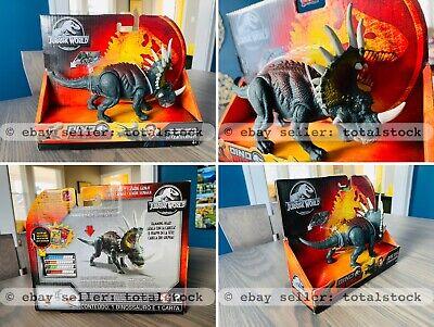 Jurassic World Dino Rivals Savage Strike Styracosaurs NEW
