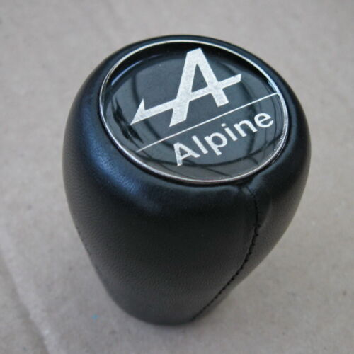 Pommeau Vitesse Cuir Complet pour R5 Alpine  R5 Alpine Turbo et Autre