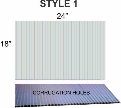 "10 WHITE Corrugated Plastic 18/"" x 24/"" 4mm Coroplast yard signs blank ART CRAFT"