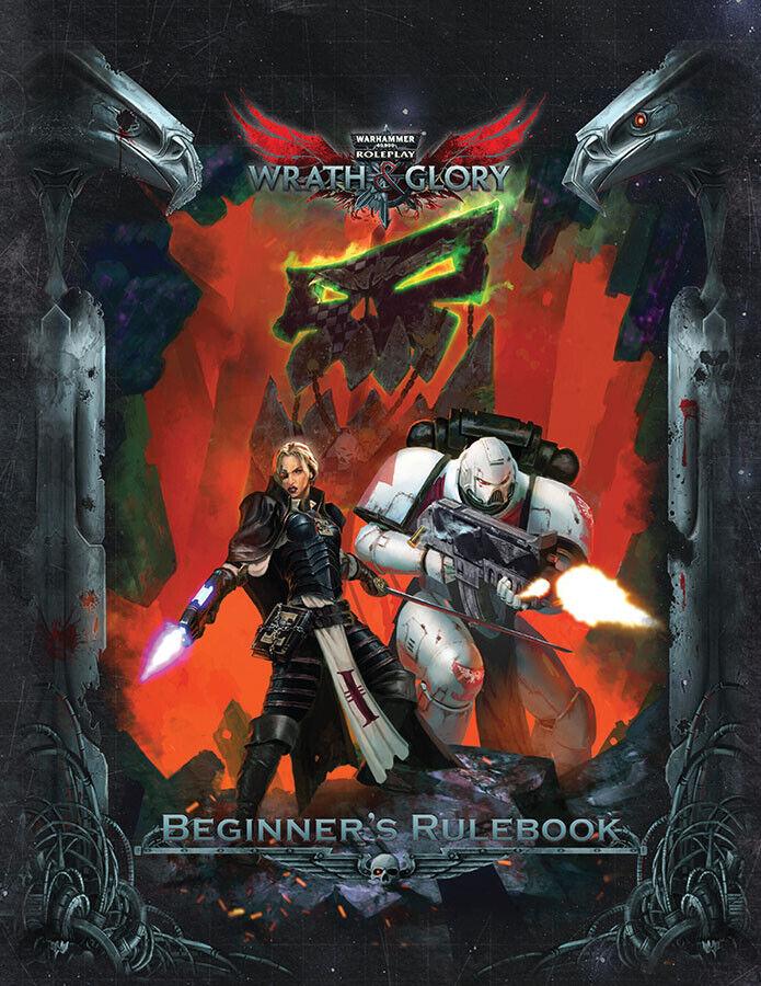 ULIWG1001 Warhammer 40K Wrath & Glory RPG  Starter Set