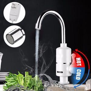 elektrische wasserhahn küche bad waschbecken kalt heiß armatur