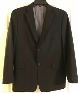 JOSEPH-ABBOUD-SUIT-Black-Size-18R-Made-In-India