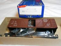 Ho Train Roundhouse 40' Wood Box Car Kit 29669 Southern Pacific Sp Mint