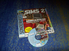 Die Sims 2 SONDERHEFT IKEA  mit CD viele Objekte ÜBER 400 Objekte