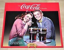 Bel vecchio Coca-Cola Calendario 2005 USA Coca Cola calendario