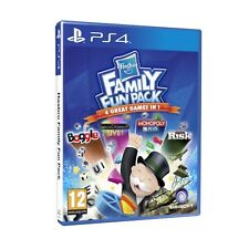 PS4 Spiel Hasbro Family Fun Pack mit MONOPOLY TRIVIAL PURSUIT RISIKO BOGGLE NEU