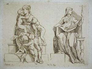 After-The-Painter-Raphael-Raffaello-Sanzio-Engraving-Xixth-Sc-Roy-16-7-8in