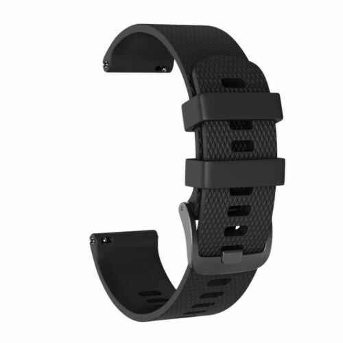 Replacement Silicone Wristband Bracelet Strap Band for Garmin Forerunner 645//245
