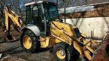 1998 Ford 555e 4x4 Backhoe 1 Owner New Holland Loader Only 4495 Hrs Extend A Hoe