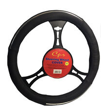 New Black Pyro Steering Wheel cover Universal Fit 14 inches by CPR