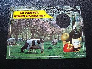 FRANCIA-tarjeta-postal-2001-normandia-el-famoso-agujero-cy62-francesa
