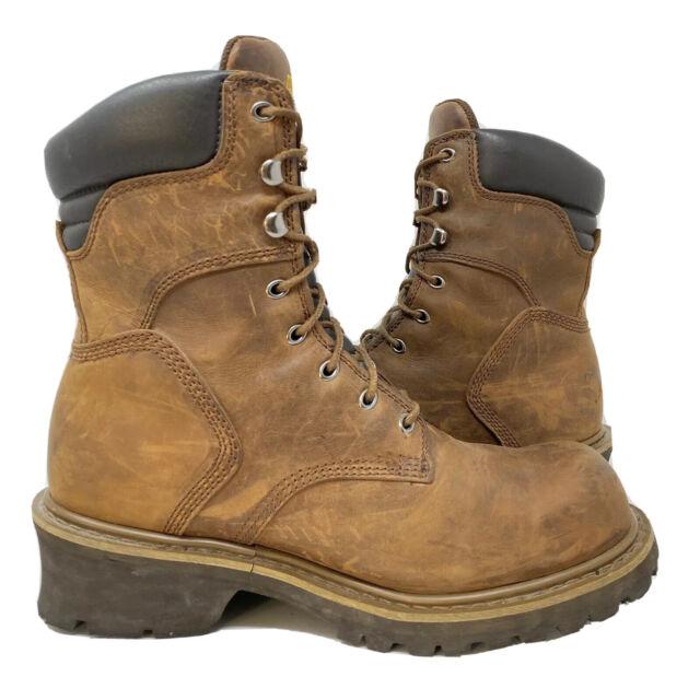 Steel Toe IQ Logger BOOTS Size 15 XW