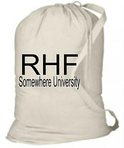 191d7020c443 Details about Personalized Laundry Bag with Name & School Name -  Camp,Graduation, College