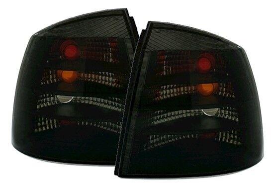 Opel Astra G CC 98-05 Rückleuchten Set Schwarz Klarglas Heckleuchten Rücklichter